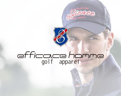 efficace homme golf apparel